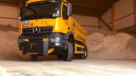 Suffolk Highways said its gritting team will be out tonight as road surface temperatures are predict