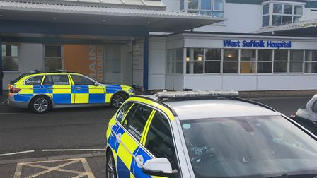 The incident happened at West Suffolk Hospital Picture: ARCHANT