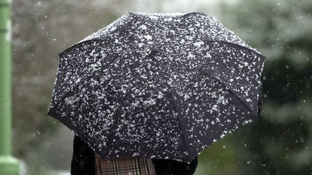 Wintry showers could be on their way next week. Picture: ARCHANT