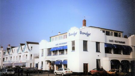 Cordy's on the Clacton seafront in the 1980s, before it was bought by Greene King and turned into th