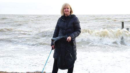 Debbie Bartlett is a Felixstowe litter-cleaning activist, and has written a book about cleaning our