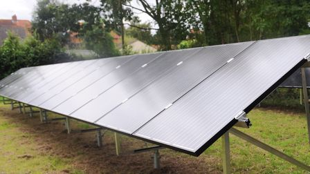 Rock Barracks is set to have a solar park to power its buildings Picture: SU ANDERSON