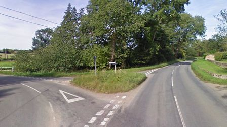 A collision has blocked Lower Road in Stowmarket. Picture: GOOGLE MAPS