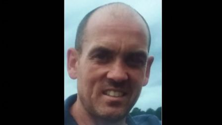 Lee Fitzgerald, who has been missing from his home in Gislingham, near Eye, since January 9 Picture: