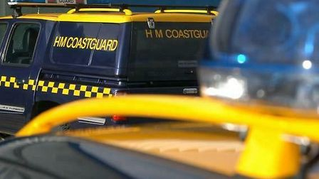 The coastguard were called into action Picture: ARCHANT