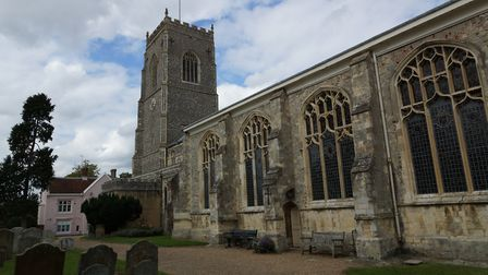 St Michael's community rooms are in the courtyard of the church in Framlingham Picture: CITIZENSIDE.