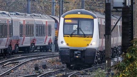 Services between Ipswich and Felixstowe have resumed Picture: GREATER ANGLIA