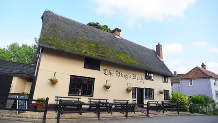 The King's Head, also know as The Low House, is to repair its thatched roof Picture: GREGG BROWN