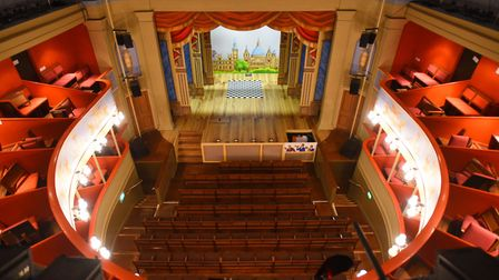 The Georgian splendour of the Theatre Royal in Bury St Edmunds Picture: GREGG BROWN