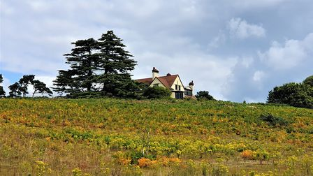 Tranmer House - part of the Sutton Hoo estate near Woodbridge Picture: GEMMA JARVIS