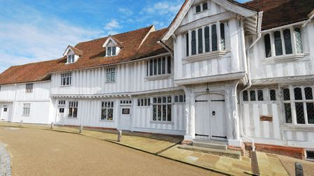 Lavenham Guildhall Picture: Getty Images/iStockphoto