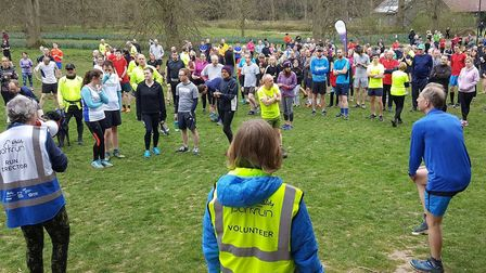 Runners, joggers and walkers are being advised that the Bury St Edmunds parkrun course is too muddy