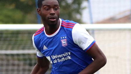 Levi Andoh signed for Ipswich Town on an 18-month deal at the start of 2020. Picture: ROSS HALLS
