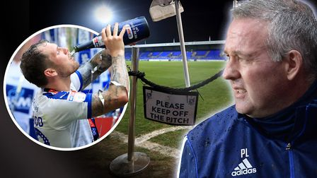 Ipswich Town manager Paul Lambert takes his side to Tranmere this weekend - James Norwood's former c