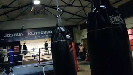 The club's historic gym in Rougham Picture: RACHEL EDGE