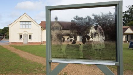 """The """"Pictures in the Landscape"""" installations at Sutton Hoo will be in place until March 31 2020. Pi"""