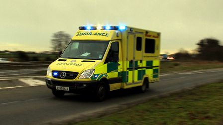 Paramedics were called to the scene (stock image) Picture: ARCHANT