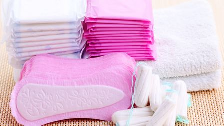 Students will be able to receive period products free under a new scheme Picture: GETTY IMAGES/ISTOC