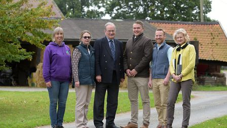A group of farming professionals and councillors have joined forces to highlight the issue of mental