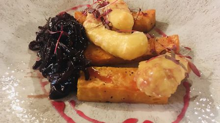 Smoked cheese beignets at The Angel, Wangford Picture: Charlotte Smith-Jarvis