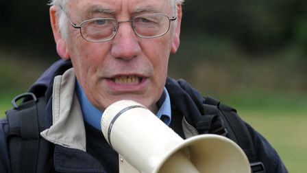 Peter Sanders, chairman of Stop Stansted Expansion ( SSE) Picture: ANDREW PARTRIDGE