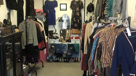 Foofaraw stocks vintage clothing, shoes and accessories