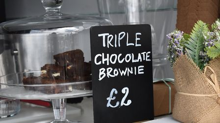Get your brownie and coffee fix at Brownie and the Bean Picture: Ellis