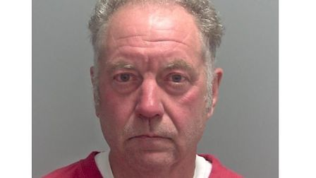 Stephen Crush, who was jailed for 13-and-a-half years at Ipswich Crown Court Picture: SUFFOLK CONSTA