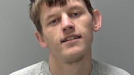 Hari Farlie, who was jailed for eight years for stabbing a man in a Bury St Edmunds pub car park. Pi