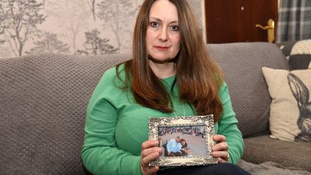Lucy Wheatley, the daughter of Sheila Coley who died after a fall at the West Suffolk Hospital Pict
