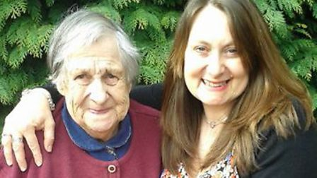 Sheila and her daughter Lucy Picture: SUPPLIED BY FAMILY