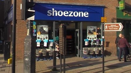 Shoezone is closing its town centre store. Picture: GOOGLE MAPS
