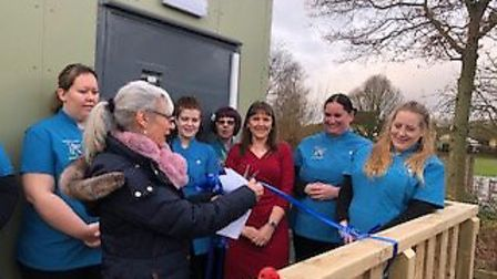 Constable County Childcare opened their new building Stutton Young Explorers nursey to round off a s