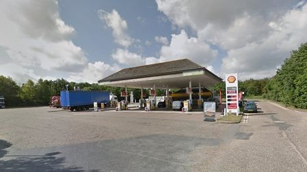 An application to redevelop the Shell petrol station in Needham Market, off the A14 has been submitt