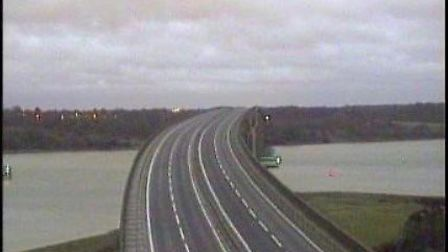 Change Orwell Bridge speed limit now, callers are telling Mark Murphy. Picture: HIGHWAYS ENGLAND