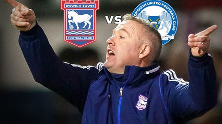 Ipswich Town take on Peterborough United at Portman Road this afternoon
