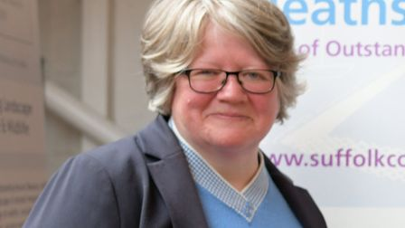 Suffolk Coastal MP Therese Coffey MP. Picture: SARAH LUCY BROWN
