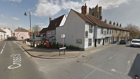 The junctionm of Cross Street and Church Street in Sudbury. Picture: GOOGLE MAPS