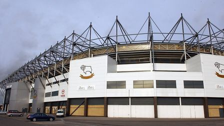 Pride Park, the home of Derby County since 1997