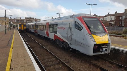 New trains are now in service on all rural lines in East Anglia - but there are no trains from Lowes