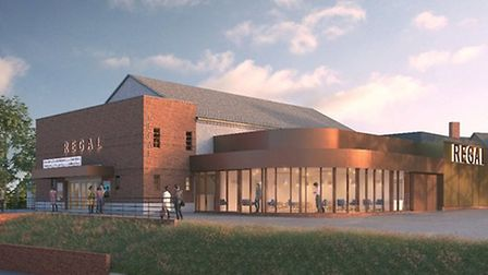 The £3.6m regeneration of Stomarket's Regal theatre is set to being in the spring of 2020 Picture: M