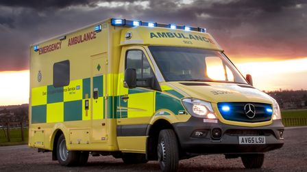 An East of England Ambulance Service ambulance. Picture: ARCHANT