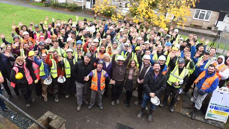 The DIY SOS episode aired in January 2019 Picture: GREGG BROWN
