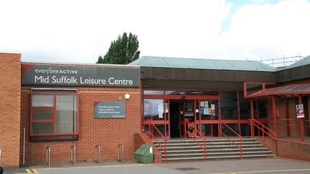 An extension could be added to Stowmarket leisure centre as part of the new plans Picture: MARK LANG