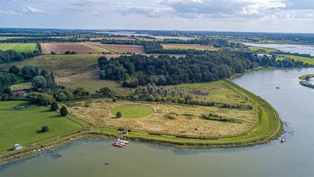 The property, inlcuding the wildlife meadow, could be yours for £1.5million Picture: JACKSON-STOPS