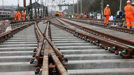 Network Rail will be carrying out more work at Colchester. Picture: NETWORK RAIL