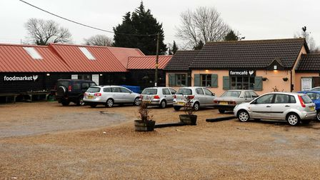 The delays are opposite the farm cafe + shop on the A12 at Marlesford. Picture: ARCHANT LIBRARY