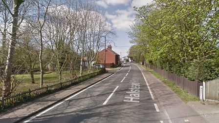 Firefighters were called to a tumble dryer fire in Eight Ash Green overnight Picture: GOOGLE MAPS