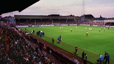 A general view of a packed Millmoor, Rotherham's former home. Picture: STEVE ELLIS
