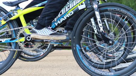 The incident happened at a BMX track in Clacton Picture CHARLOTTE BOND
